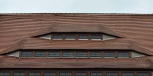 Seltsames Dach