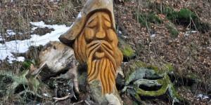 Holzschnitzkunst im Thüringer Wald