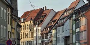 Fußgängerzone in Erfurt