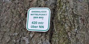 Mittelpunkt von Westdeutschland