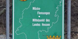 Mücke ist das Zentrum von Hessen