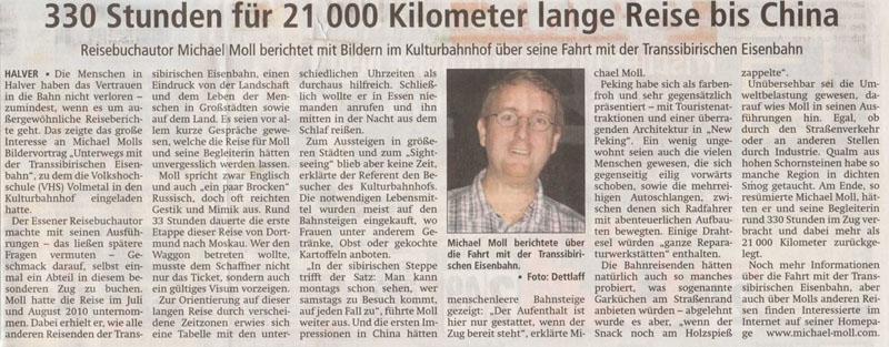 Allgemeiner Anzeiger Volmetal vom 29. Oktober 2014