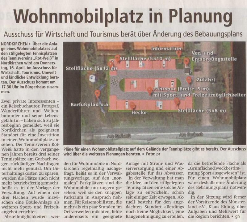 Westfälischer Anzeiger vom 10. April 2015