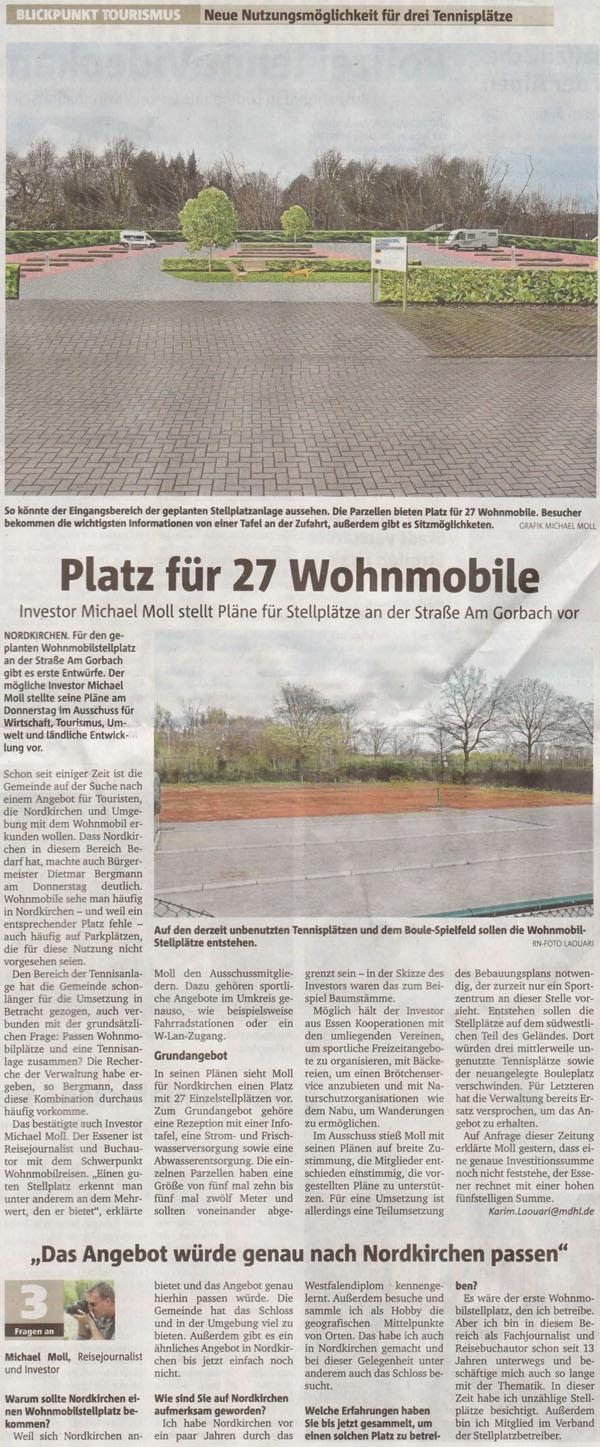 Ruhrnachrichten vom 18. April 2015