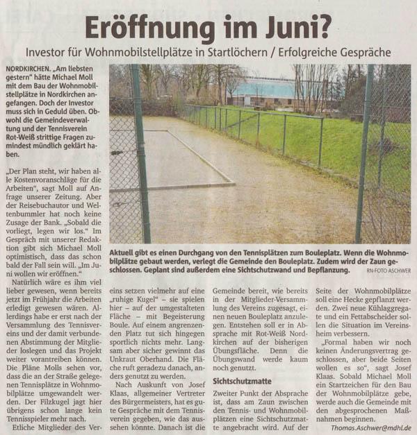 Ruhrnachrichten vom 6. April 2016