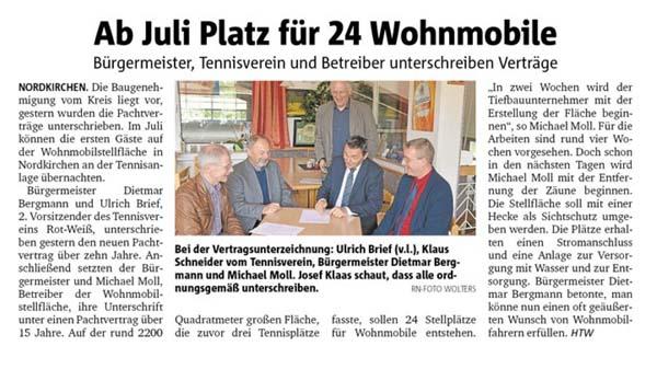 Ruhrnachrichten vom 20. Mai 2016