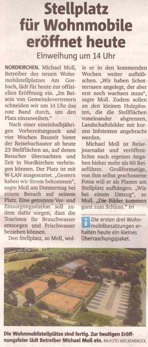 Ruhrnachrichten vom 16. Juli 2016