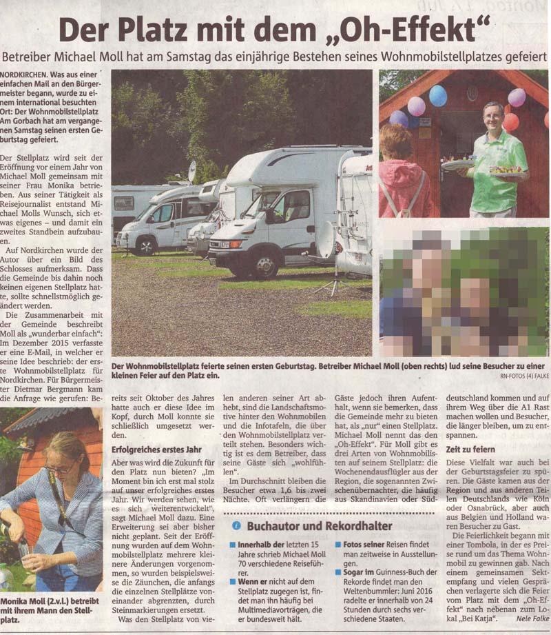 Ruhrnachrichten vom 17. Juli 2017
