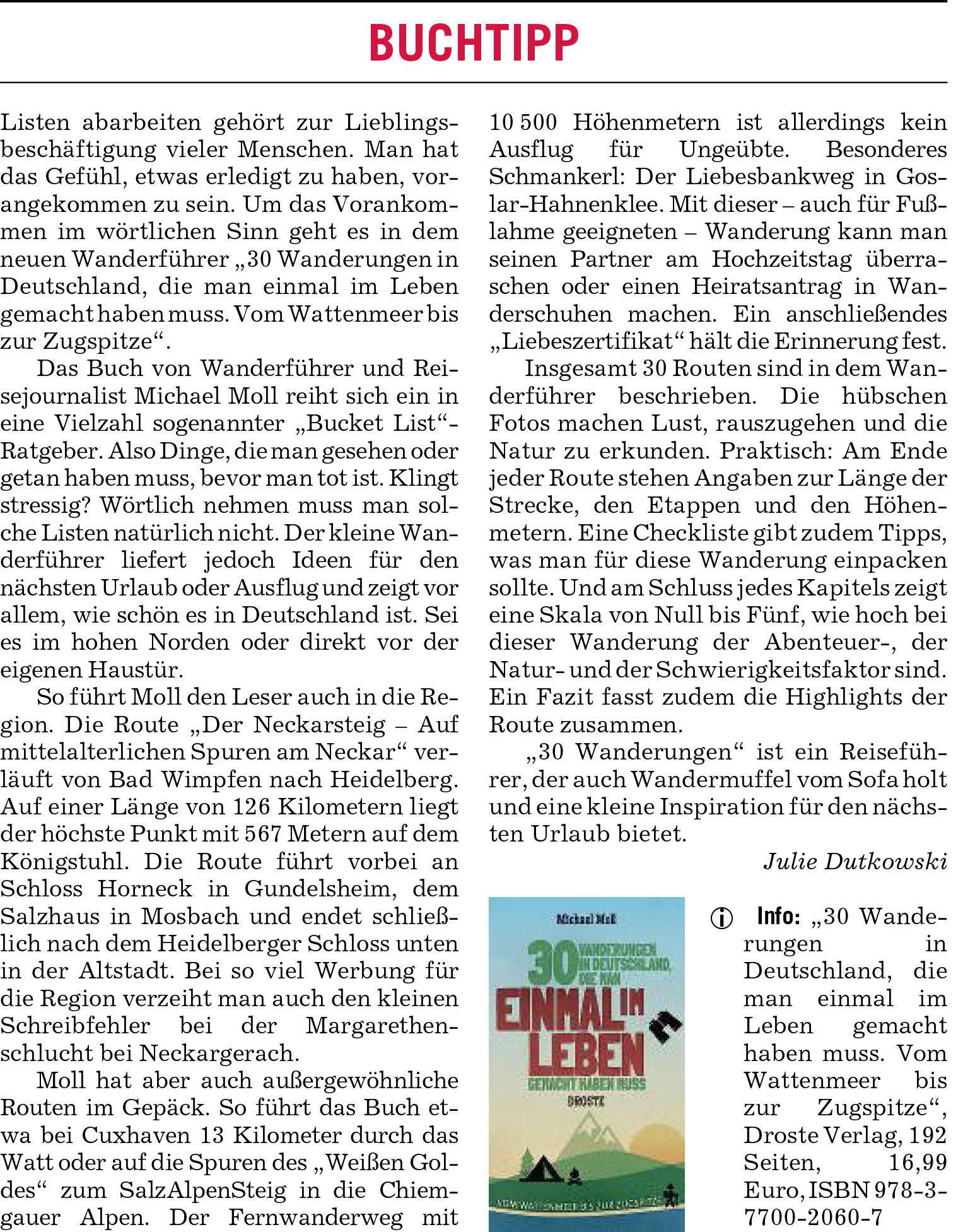 Rhein-Neckar-Zeitung vom 22. Mai 2019