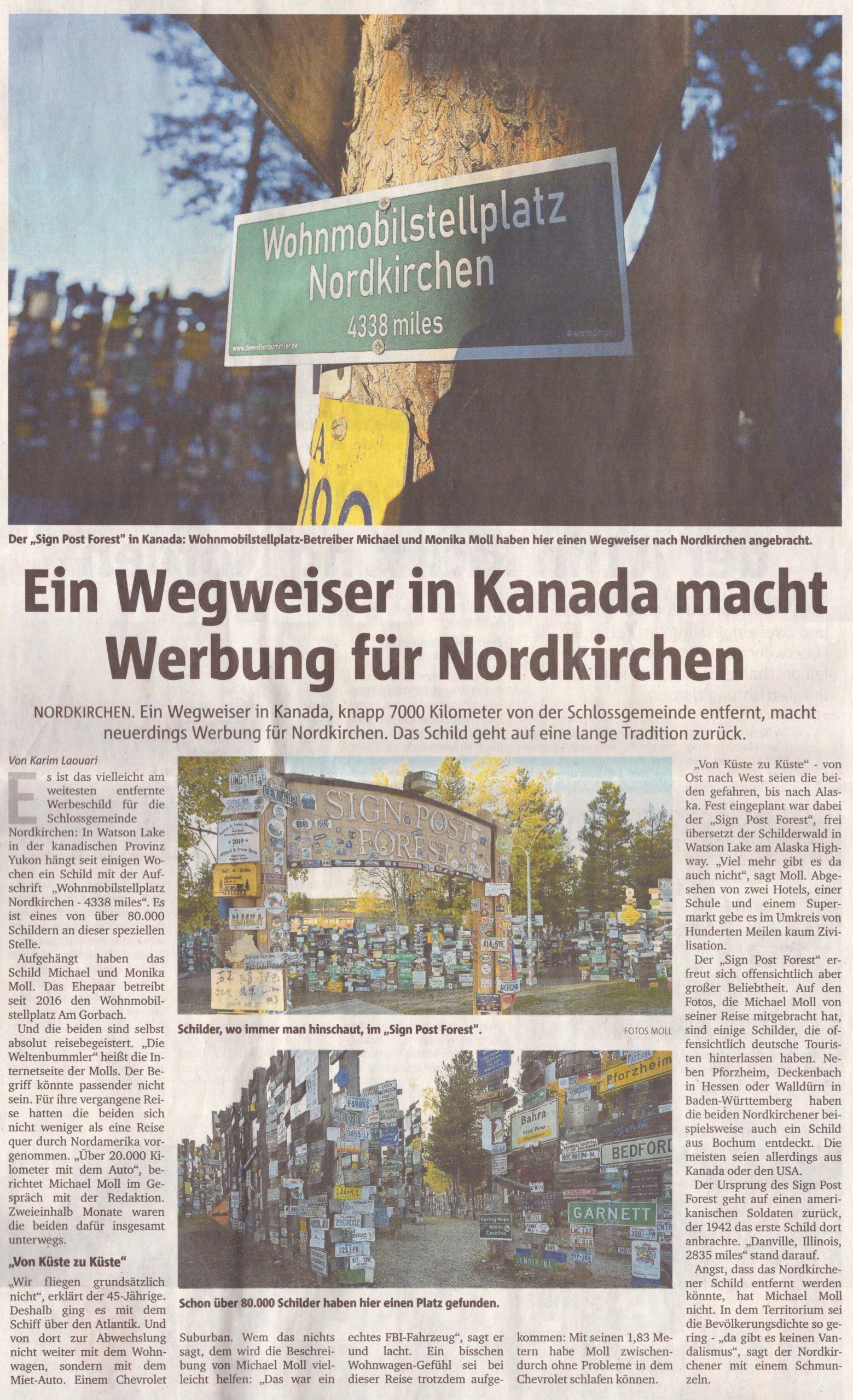 Ruhrnachrichten vom 30.10.2019