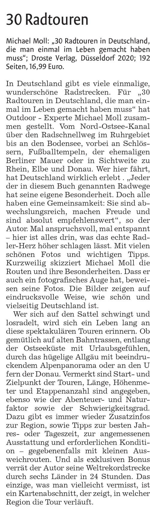 Nürtinger Zeitung vom 20. April 2020