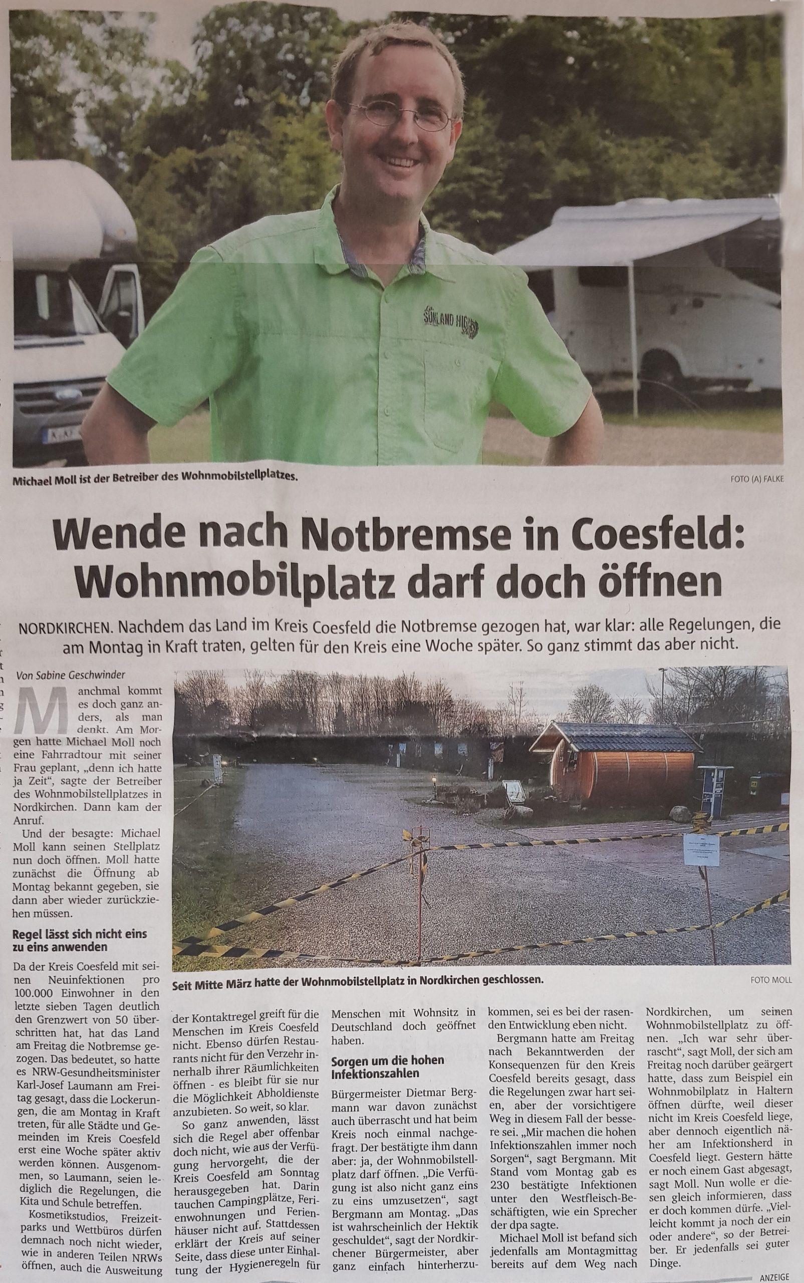 2020-05-12 Ruhrnachrichten-Print