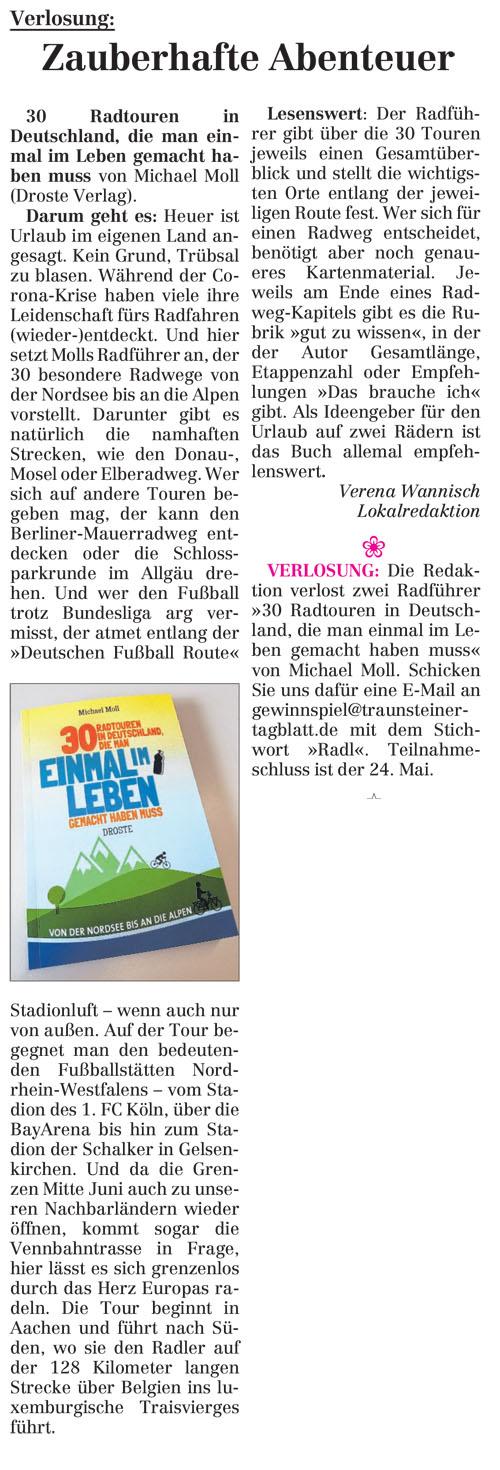 Traunsteiner Tagblatt vom 14. Mai 2020