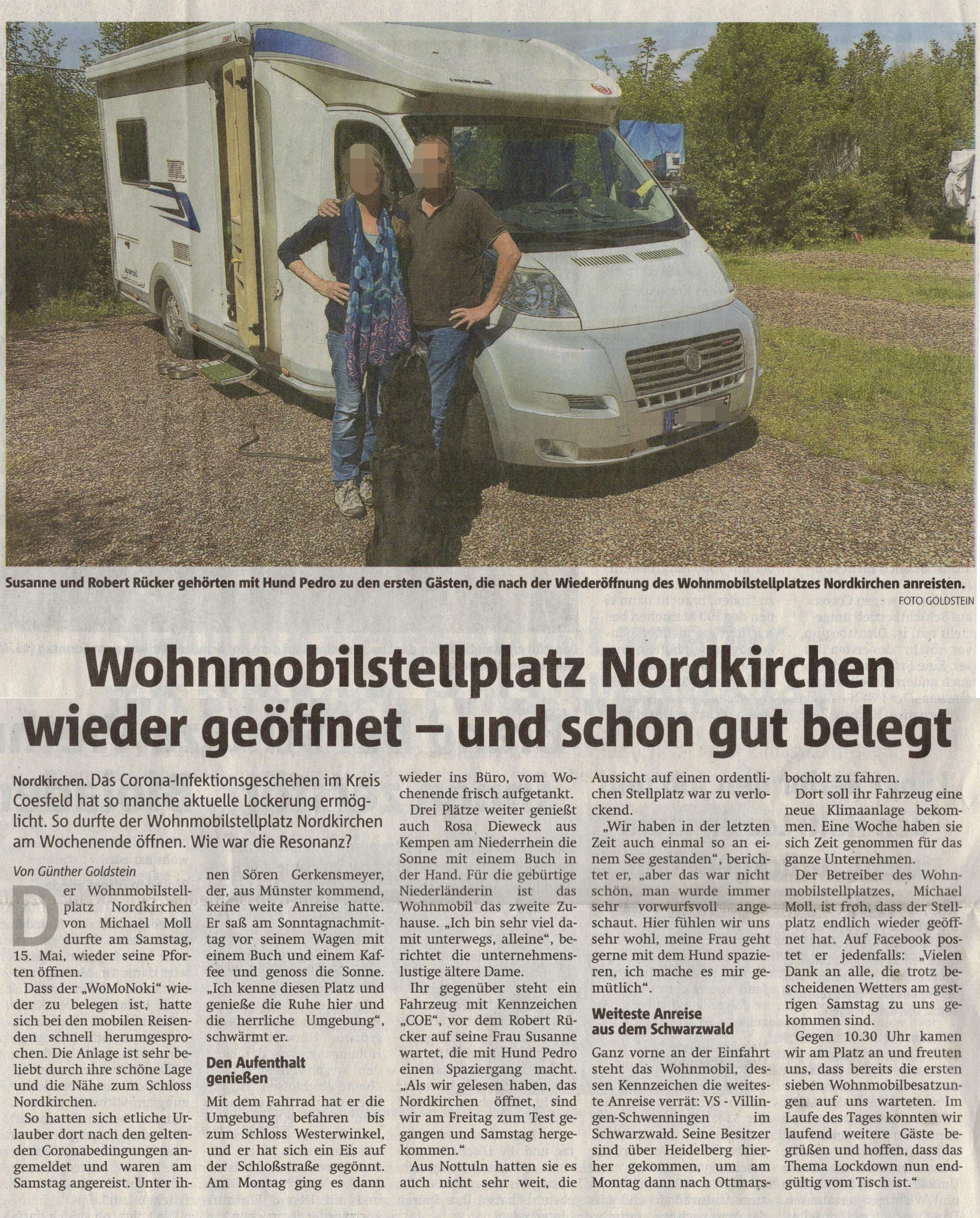 Ruhrnachrichten vom 18. Mai 2021