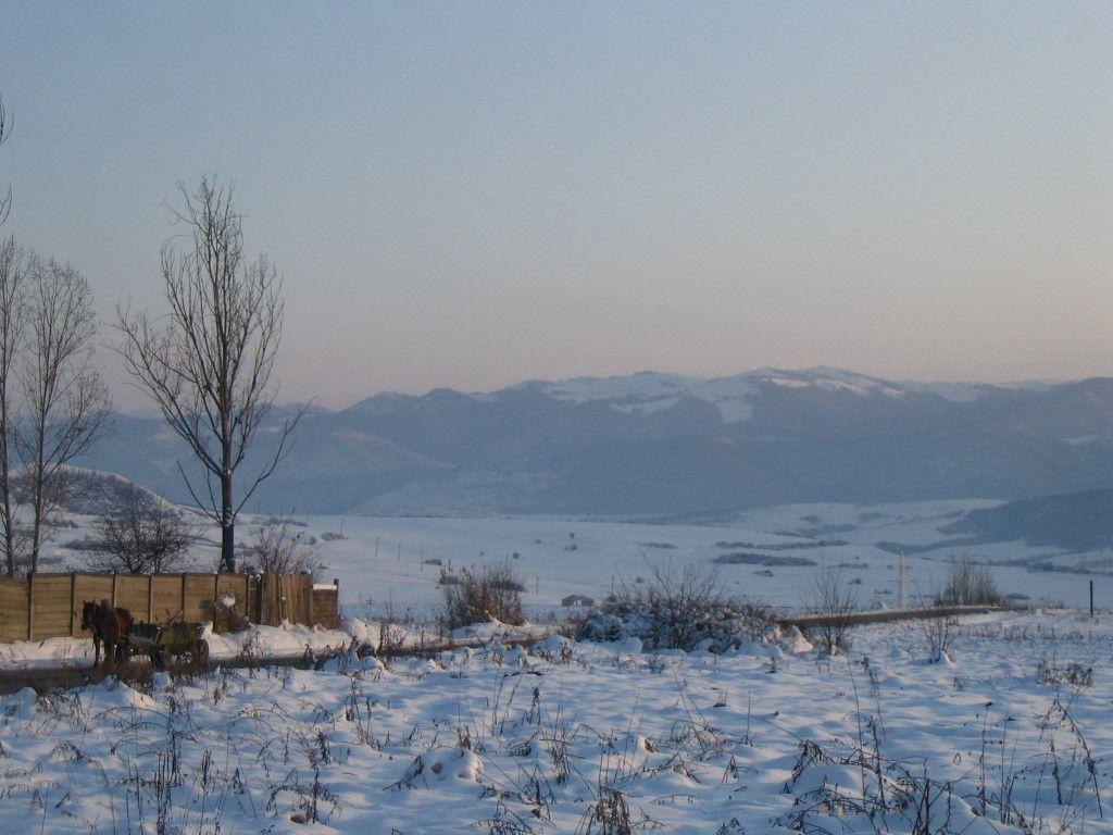 rumänische Winterlandschaft