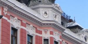 Hausfassade in Brasov