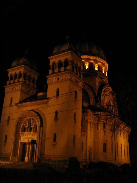 Satu Mare bei Nacht