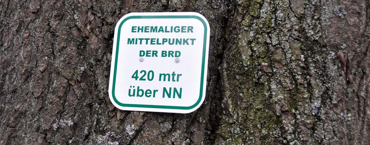 Mittelpunkt von Hessen
