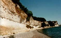 Kreideküste in Dänemark