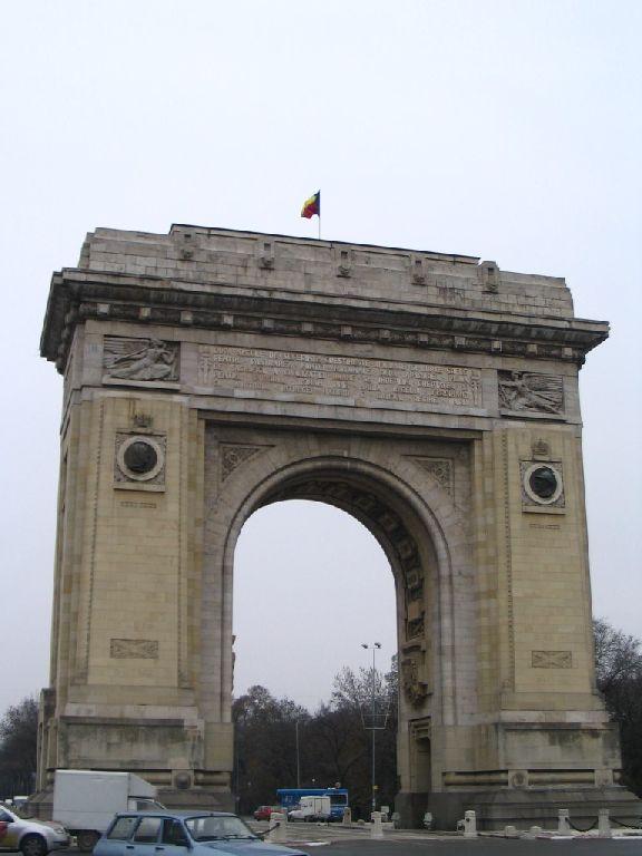 Triumphbogen in Bukarest