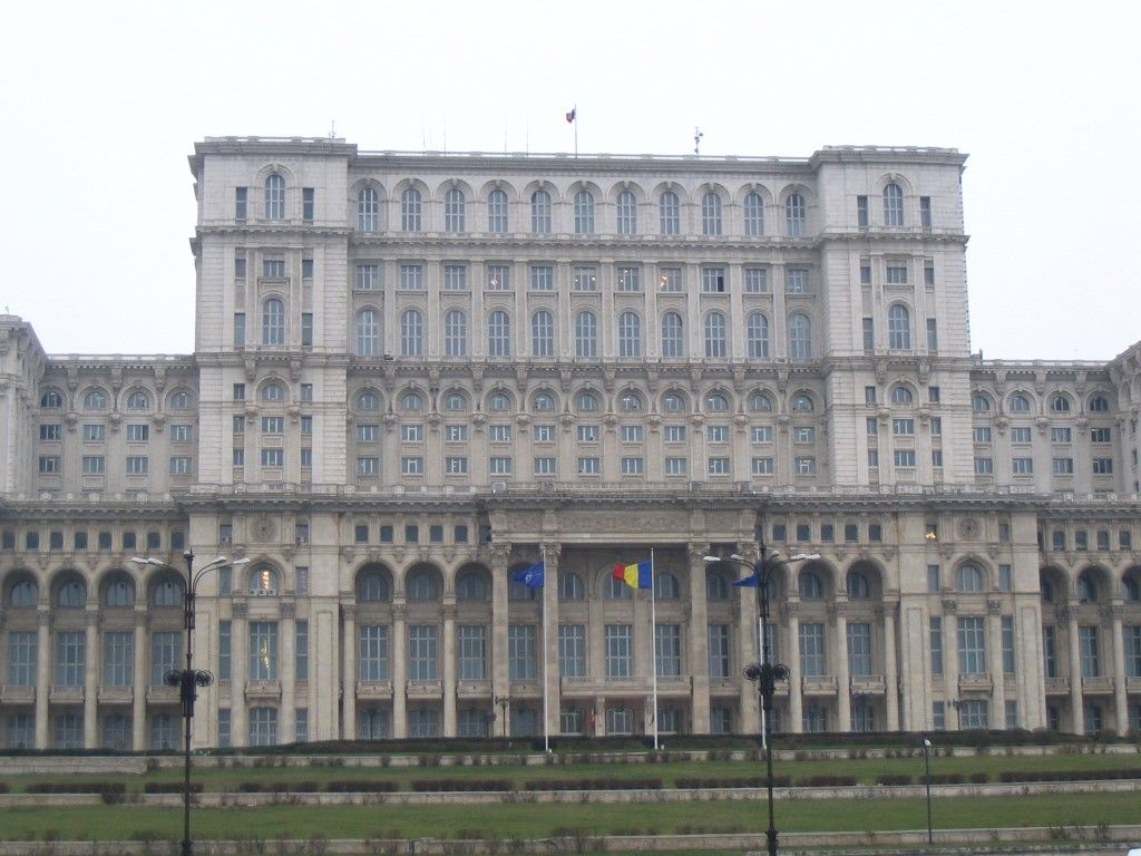 Parlament in Bukarest