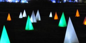 Leuchtpyramiden