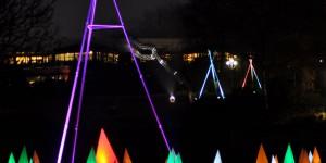 Pyramiden im Licht
