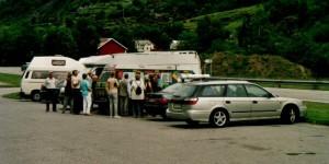 VW-Bus in Norwegen