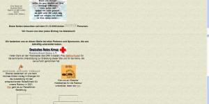 Diese Webseite im Jahr 2001