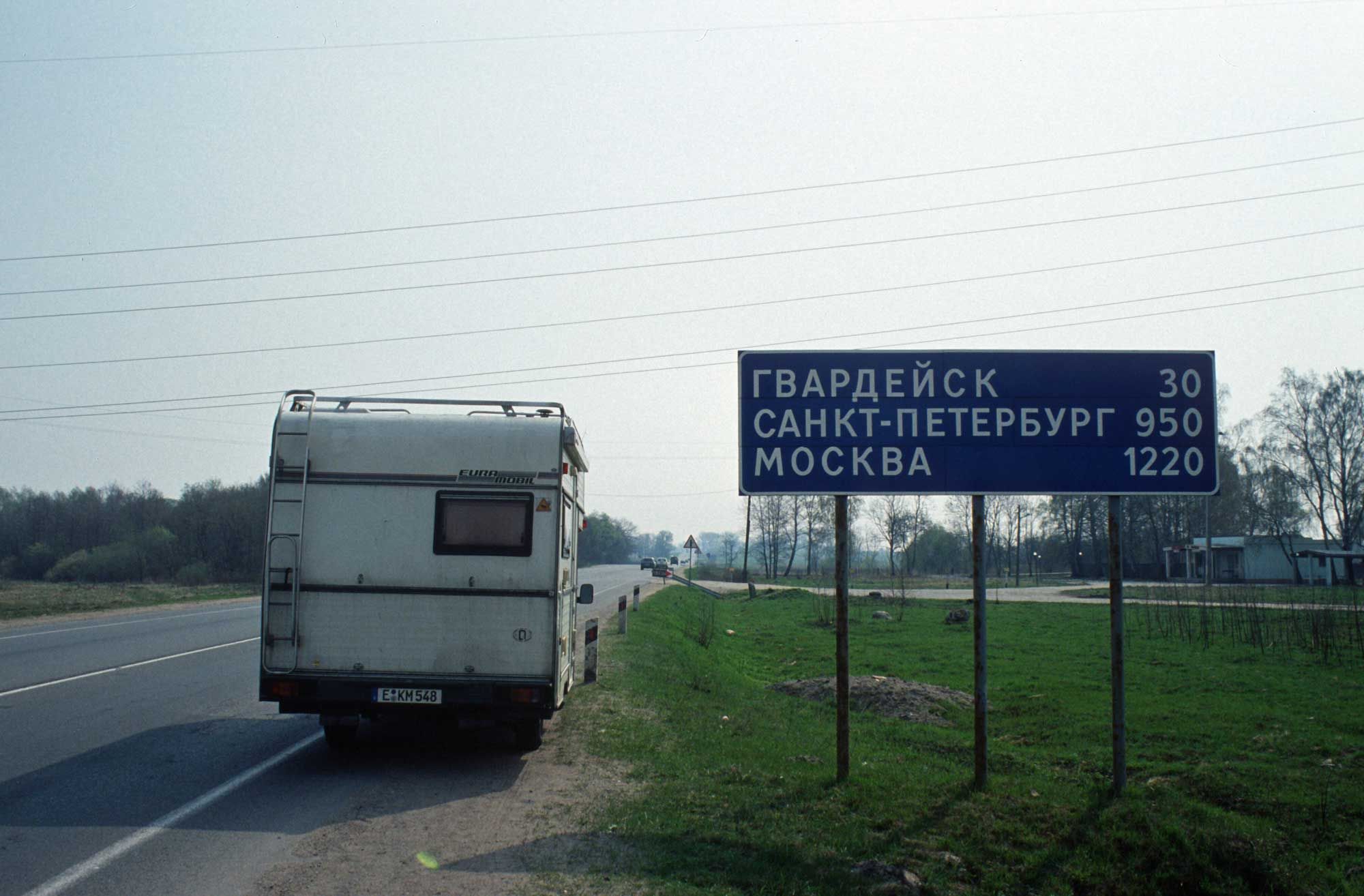 Wohnmobil in Russland