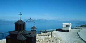 Wohnmobil auf dem Balkan