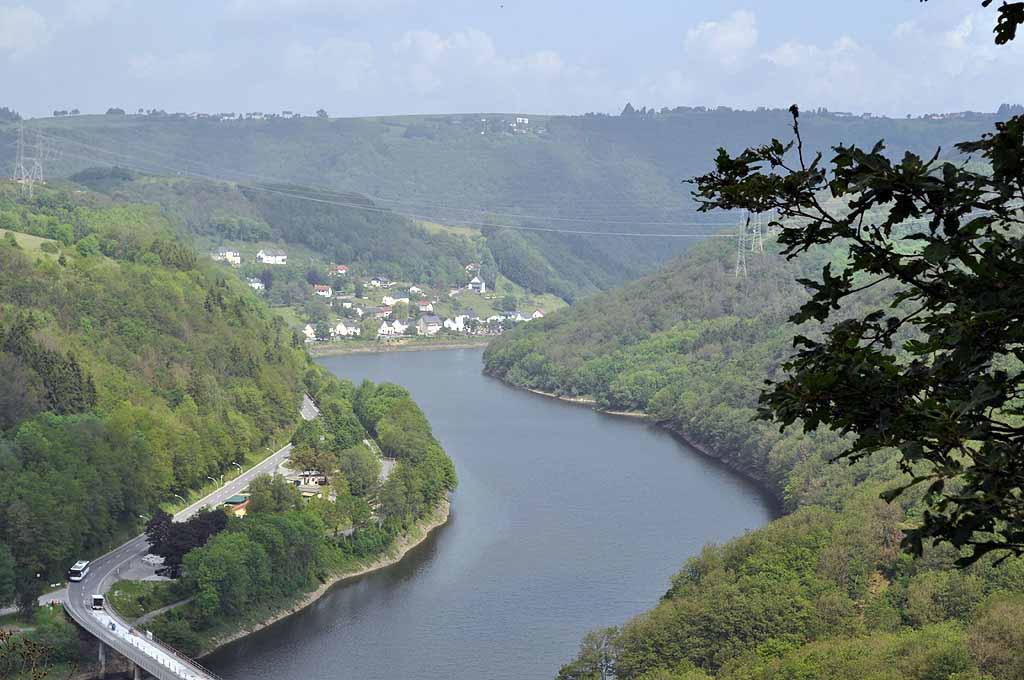 Blick auf den Fluss Our bei Vianden