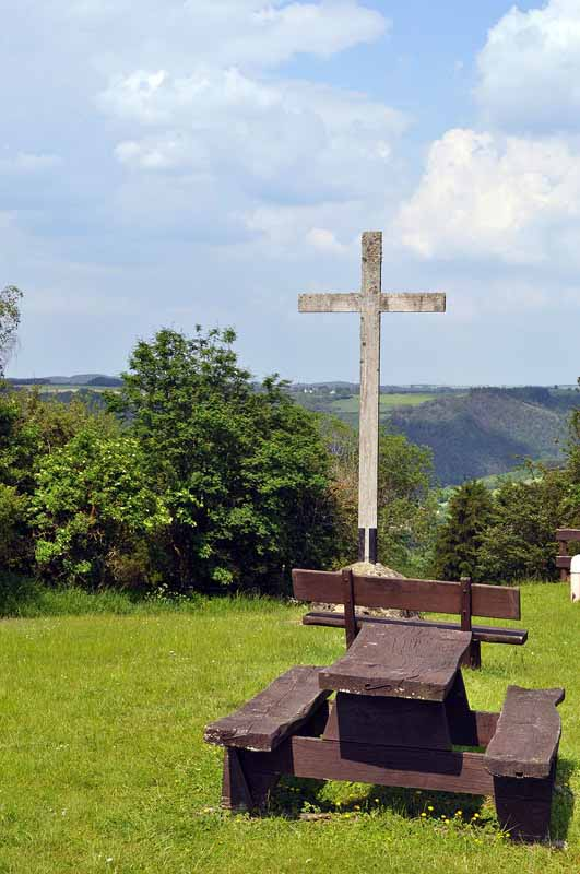 Gipfelkreuz in Luxemburg