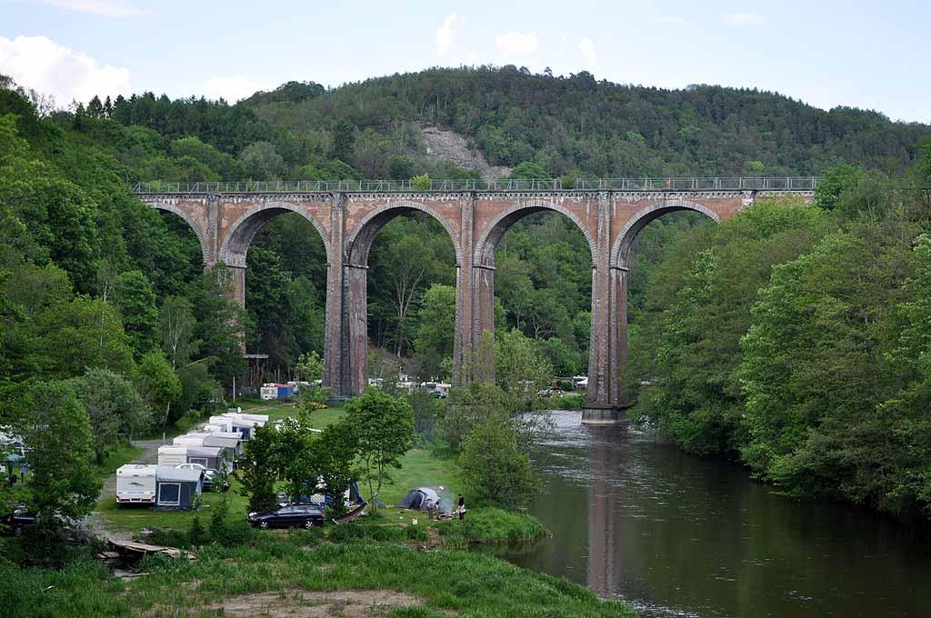 Viadukt über die Semois