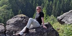 Klippen in den Ardennen
