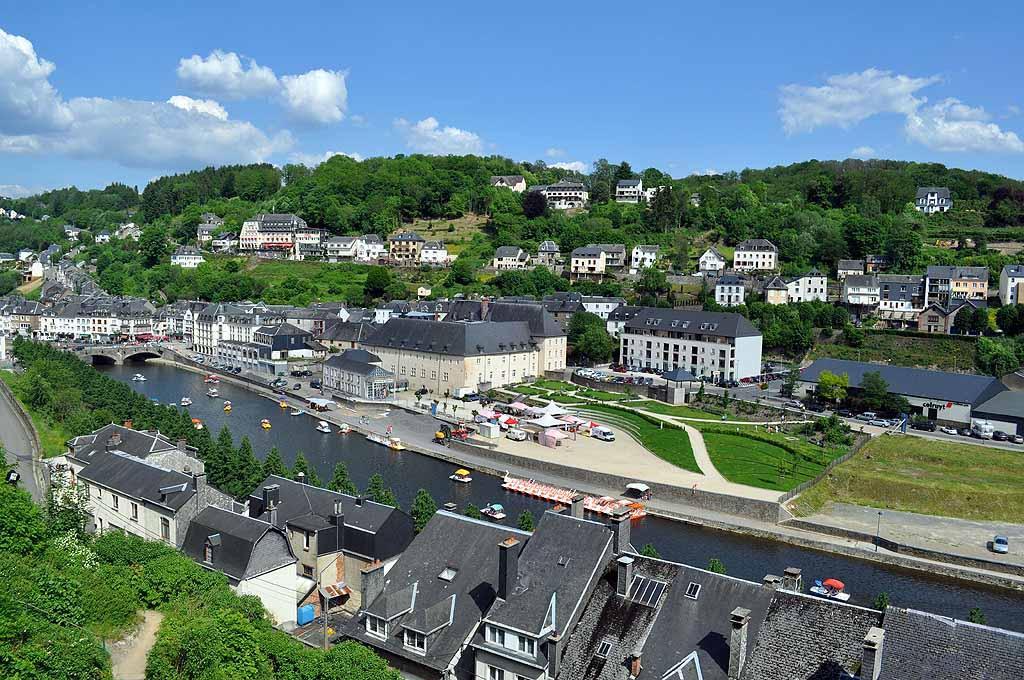 Aussicht auf Bouillon