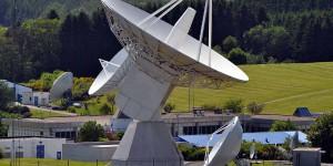 Station der ESA bei Redu