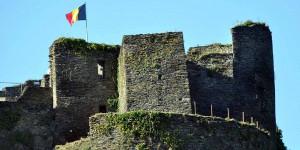 Burgruine in La-Roche-en-Ardenne
