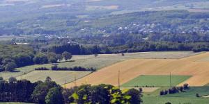 Landschaft der Wallonie
