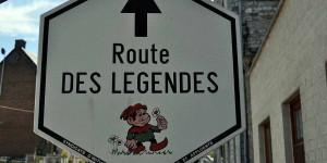 Route de Legendes bei Harzé