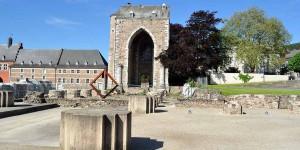 Kirchenruine in Stavelot