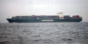 Frachtschiff Ever Leading - Rufzeichen 2FRK8