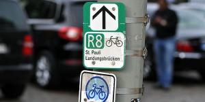 Radwege in der Hansestadt