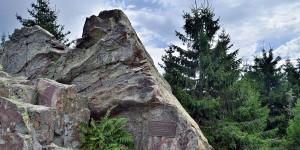 Felsen an der Hanskühnenburg