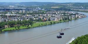 Seilbahn über den Rhein