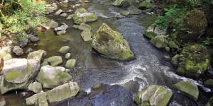 Sogenannte Irreler Wasserfälle