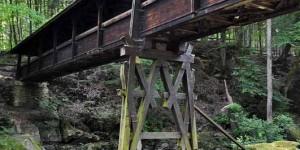 Brücke bei den Irreler Wasserfällen