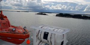 Fähre zwischen Ålandinseln und Schweden