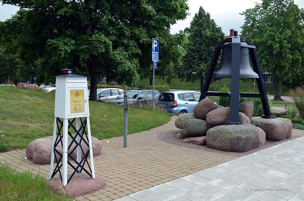 Briefkasten auf den Ålandinseln