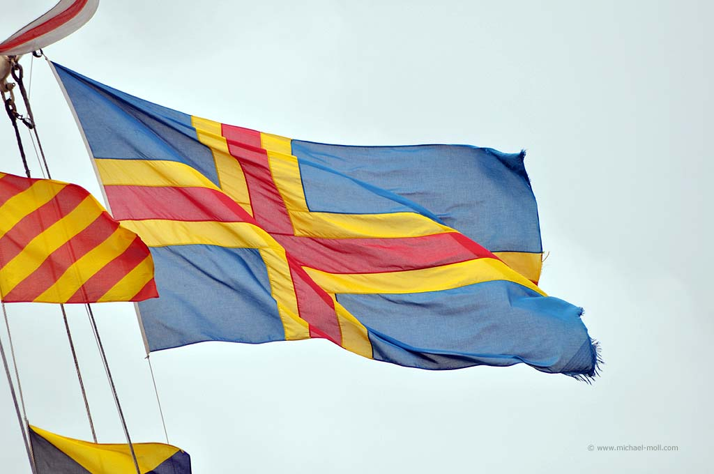 Flagge der Ålandinseln